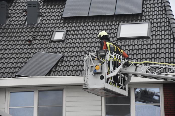 De overige zonnepanelen zitten wel goed vast en zorgen niet voor een onveilige situatie.