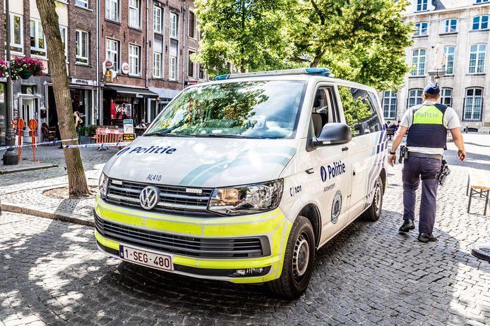 Politie Antwerpen - Illustratiebeeld - Stock