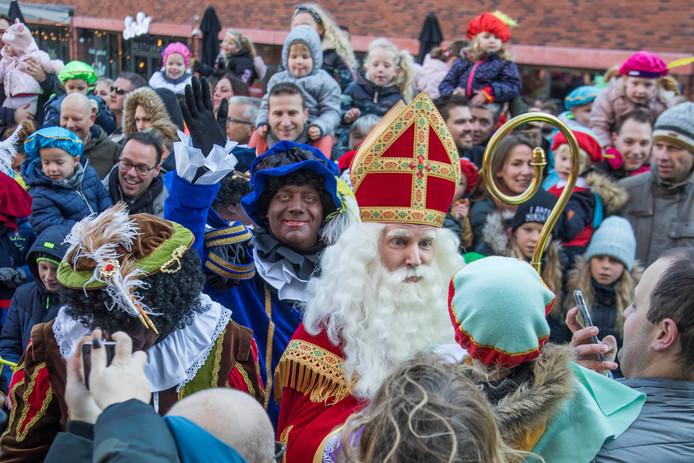 Intocht Sinterklaas in 2018.