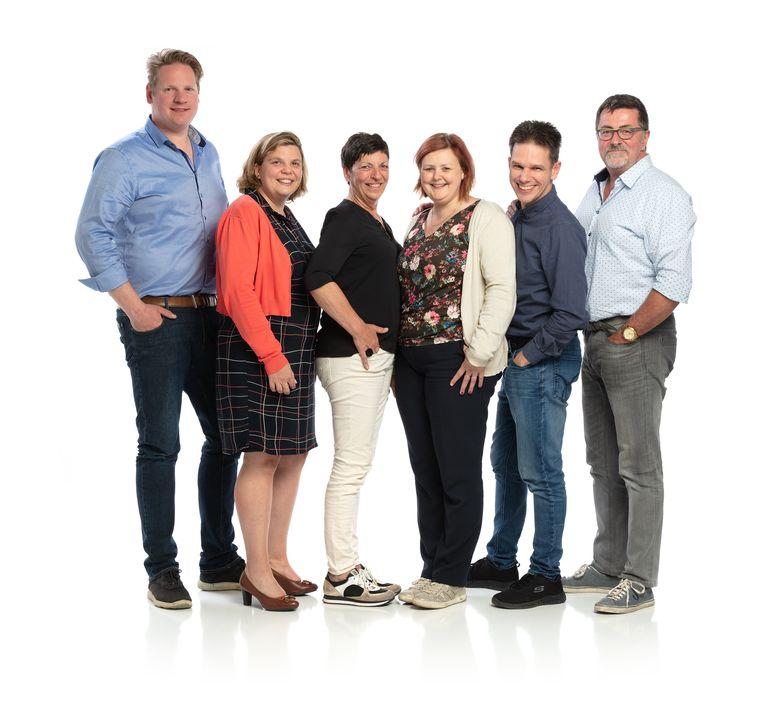 Het bestuur van UNIZO Denderleeuw.