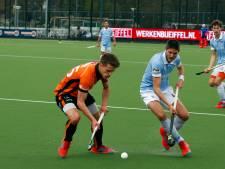 Hockeymannen Oranje-Rood lopen ondanks gelijkspel uit op Rotterdam