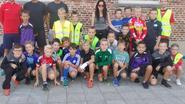 Ultraloopster Sarah Wagemans geeft startschot kidsrun