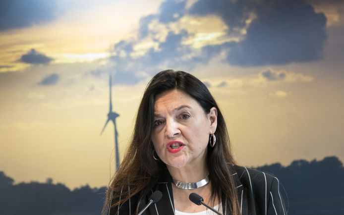 Marie-Christine Marghem, ministre fédérale de l'Énergie (MR).