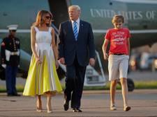 Dochter Clinton schiet zoontje Trump te hulp