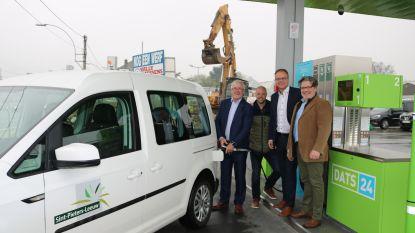 Leeuwenaren kunnen CNG tanken in nieuw DATS 24-tankstation langs Bergensesteenweg