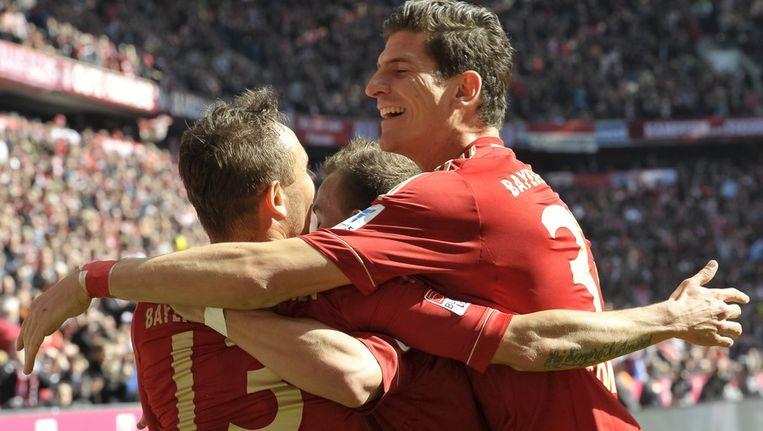 Kampioen Bayern München maakt ook Nürnberg van Simons kopje