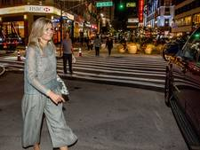 Máxima spurt van Prinsjesdag naar feestdiner New York