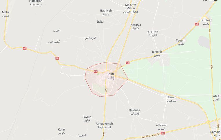 De explosie vond plaats in de provincie Idlib.