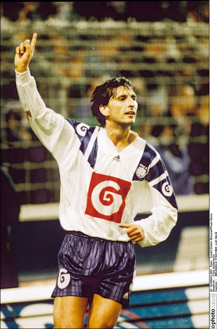 Luc Nilis in 1993.