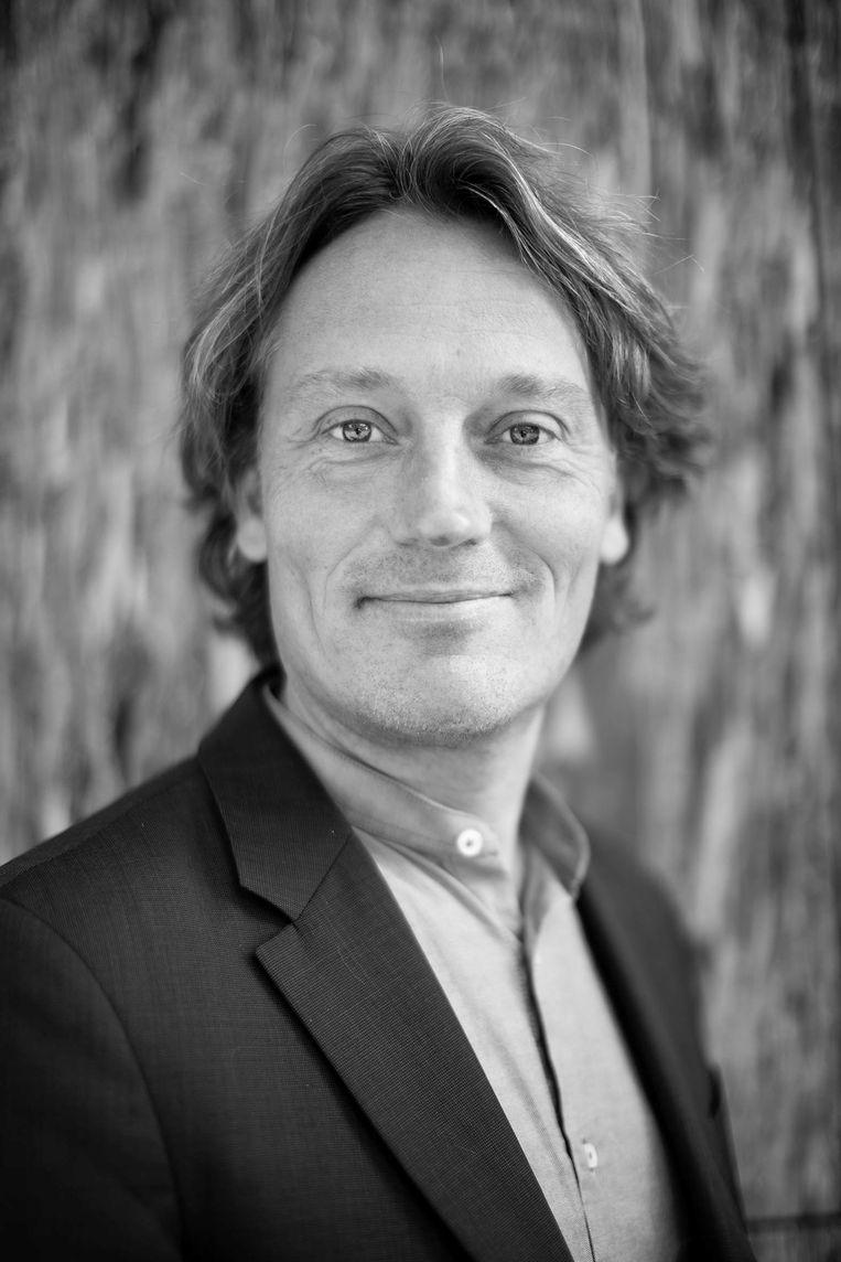 Johnas van Lammeren is fractievoorzitter van Partij voor de Dieren in de Amsterdamse raad Beeld Thomas Schlijper