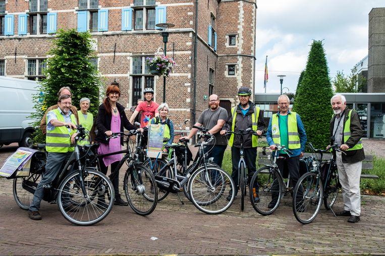 14062019 Aartselaar meting Groen meet luchtkwaliteit per fiets in Aartselaar
