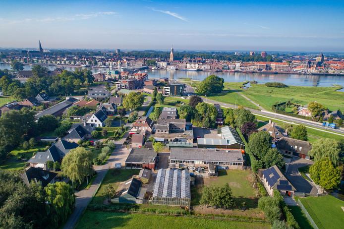 Voormalige wasserij aan de Blekerijweg in IJsselmuiden. Op deze plek is de bodem ernstig vervuild door een chemische wasserij die tot in de jaren 70 van de vorige eeuw in bedrijf was.