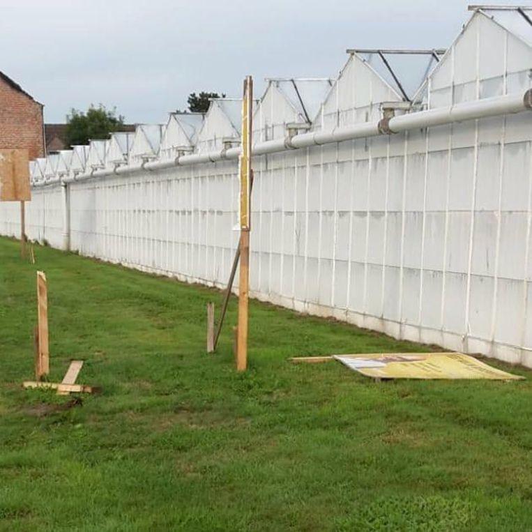 Het bord van de N-VA-burgemeester werd al 2 keer vernield.