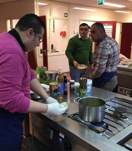 Syrische vluchtelingen openen pop-up restaurant in Oss