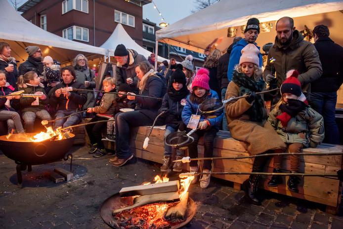 Vorig jaar was er ook van alles te beleven op de wintermarkt in Breda.