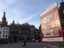 Eerste verkiezingsborden in hartje Nijmegen