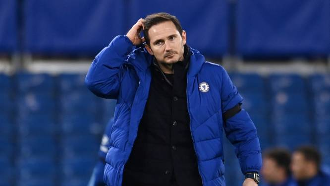 Chelsea zet Frank Lampard op straat