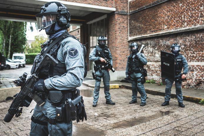 Het COPS-team van de Gentse politie