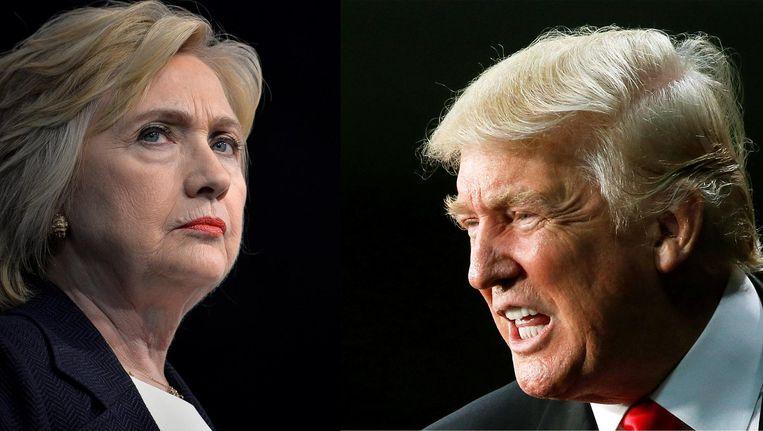 Mogelijk wordt het debat van maandag het best bekeken presidentiële debat ooit. Beeld AP/Reuters