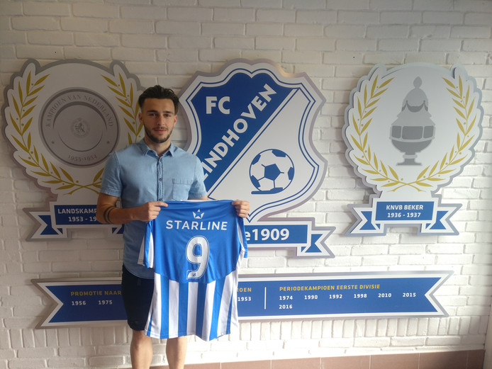 Alessio Carlone voor twee jaar naar FC Eindhoven.