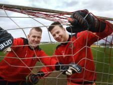 Duobaan in Maurik: twee keepers met één doel