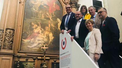 """""""Te weinig Aalstenaars weten dat er een Rubens hangt in Sint-Martinuskerk"""""""