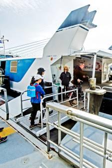 Reiziger waardeert Waterbus in hoge mate