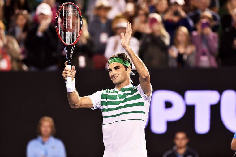 Roger Federer Beeld epa
