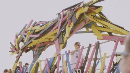Nieuw: wippen op de weide van Pukkelpop