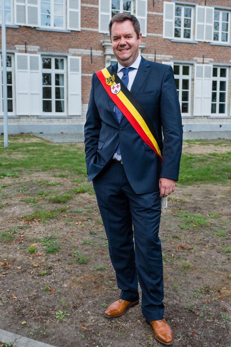 Burgemeester Steven Swiggers Haacht