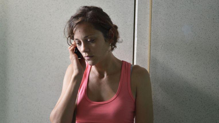 Marion Cotillard in 'Deux jours, une nuit' van de broers Dardenne.
