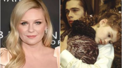 25 jaar na 'Interview With The Vampire' is Kirsten Dunst nog altijd niet te spreken over haar 'walgelijke' kus met Brad Pitt