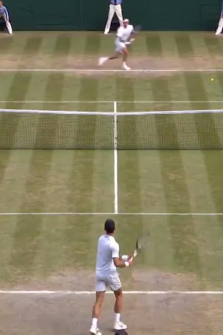 L'échange historique entre Federer et Djokovic lors de la finale de Wimbledon