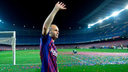 """Xavi zwaait in emotionele brief Iniesta uit: """"De speler met het meeste talent in de geschiedenis van Spanje"""""""
