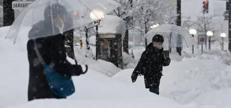 Minstens acht doden door hevige sneeuwval Japan, en er komt nog meer sneeuw aan