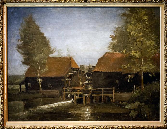 Het Noordbrabants Museum kocht vorig jaar het schilderij 'Collse Watermolen' van Vincent van Gogh bij Sotheby's New York voor bijna 3 miljoen euro.