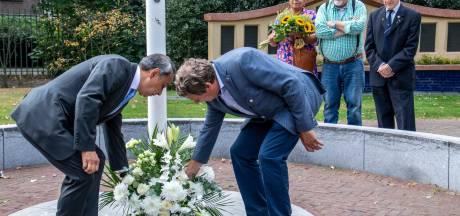 Sobere herdenking in Tilburg van 75 jaar bevrijding Nederlands-Indië