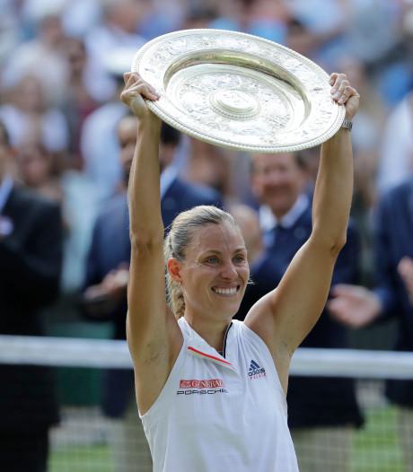 Kerber revancheert zich tegen Williams en grijpt eerste Wimbledon-titel