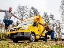 Amee en Ernst-Jan gaan wonen en werken in een tiny house op wielen