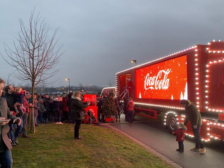 Kersttruck Coca Cola Jabbeke