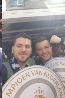 Zij zijn er bij: dolle vreugde bij Tukkers in Rotterdam
