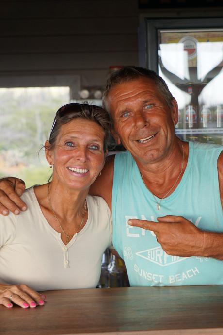 'Scheetjes' Hans en Karin ware attractie op Bonaire
