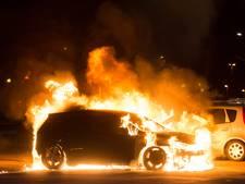 Auto's in brand op Blokhoeve Nieuwegein