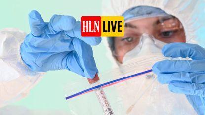 OVERZICHT. Aantal besmettingen opnieuw licht gestegen,  ziekenhuisopnames gedaald