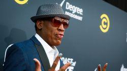 Controversiële Kim Jong-Un-voorstander Dennis Rodman wil Kanye West mee naar Noord-Korea