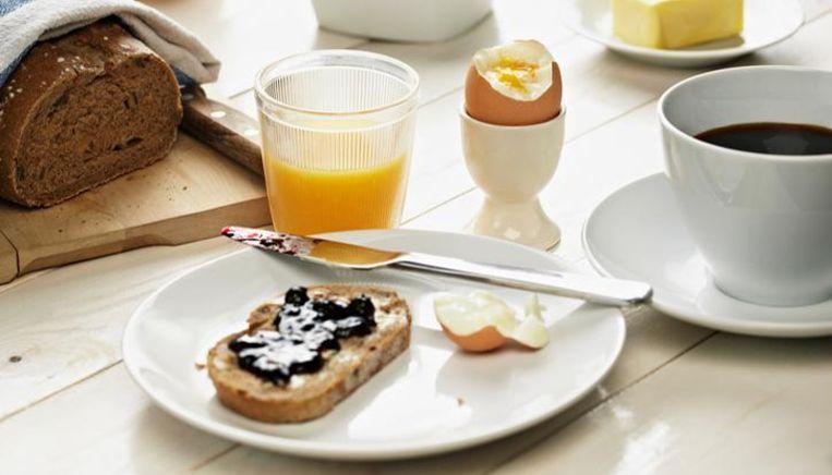 Een ontbijtje.