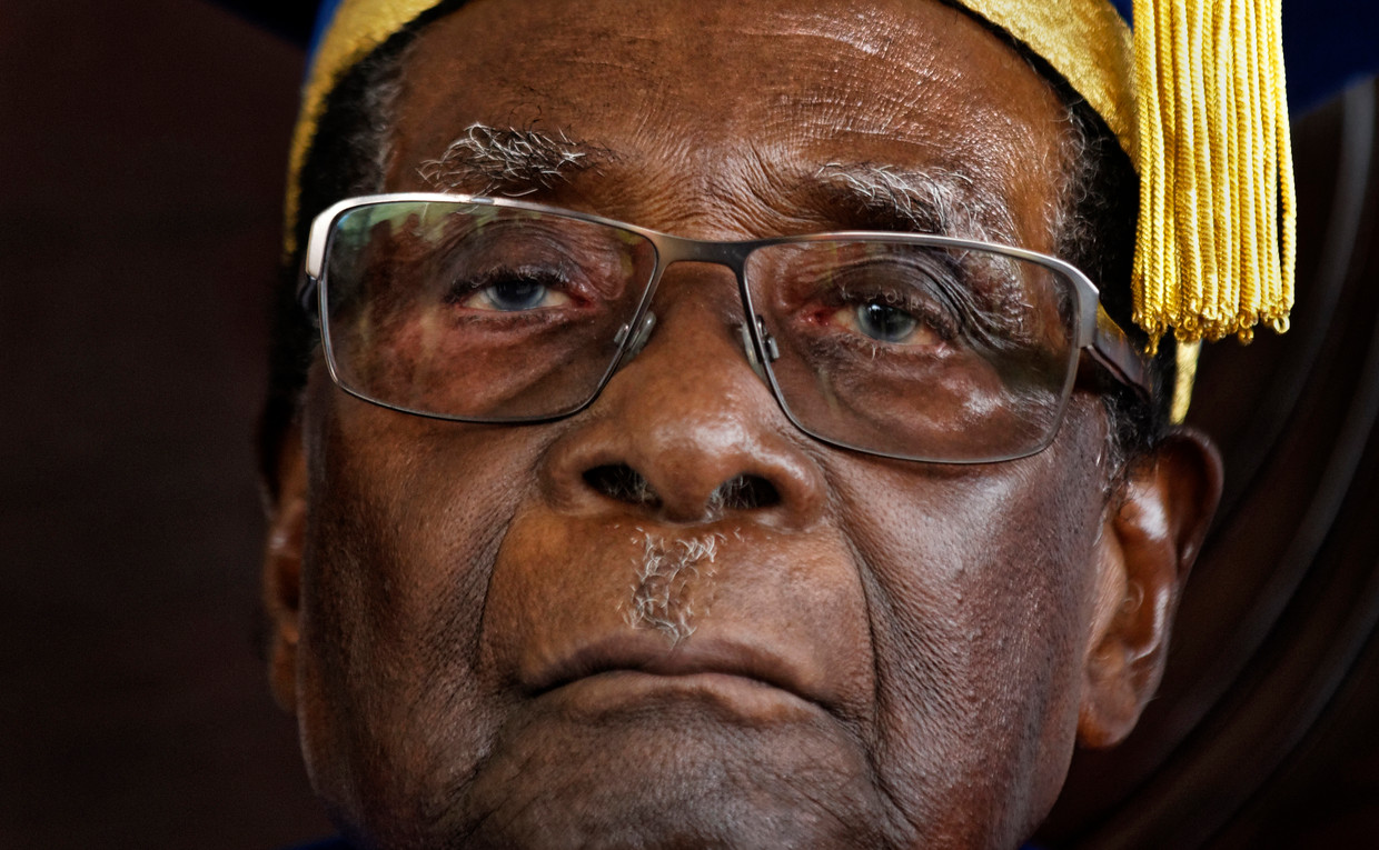 Mugabe in 2017.