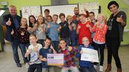 Zesdejaars Kouterschool bedenken beste slogan tegen zwerfvuil