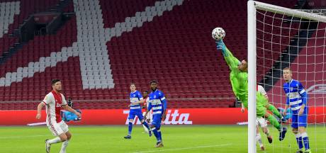 Drukke avond voor Zetterer in de Arena: Duitse keeper van PEC verrichtte negen reddingen