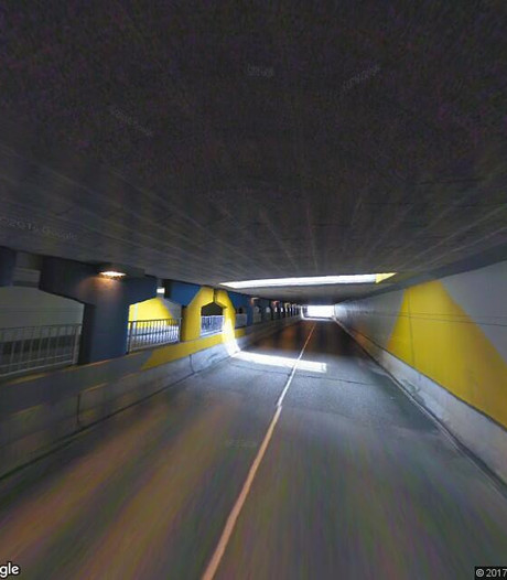 Tunnel open tijdens werk aan Willemskade